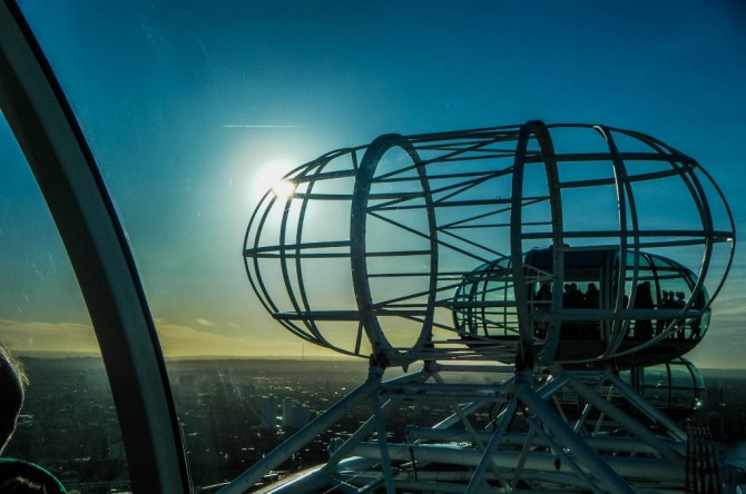 235 - Top of the London Eye